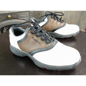 Footjoy Greenjoys Mens Flexzone Golf Shoes Sz 9.5